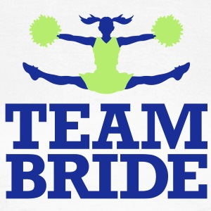 Team Bride 1 (2c)++ T-shirts - T-shirt dam