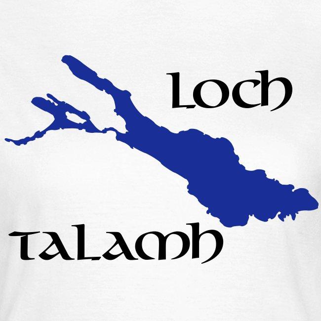 Loch Talamh ohne Hintergrund