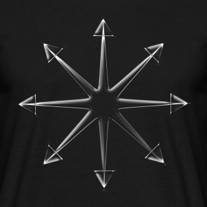 Chaos Star Glass (Shatter Reality) T-Shirts - Männer T-Shirt