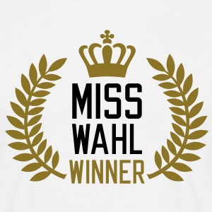 Miss Wahl Winner | Sieger T-Shirts - Men's T-Shirt
