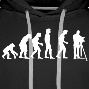 cinematographer evolution Sweaters - Mannen Premium hoodie