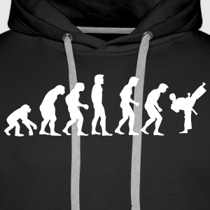 kickboxing_evolution Hoodies & Sweatshirts - Men's Premium Hoodie