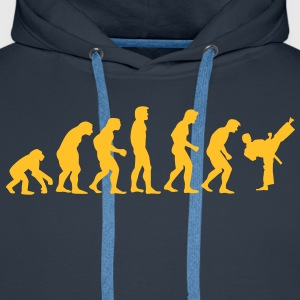 kickboxing_evolution Sweat-shirts - Sweat-shirt à capuche Premium pour hommes