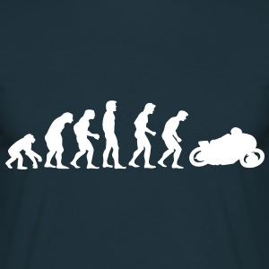 motorcycle evolution T-shirts - Mannen T-shirt