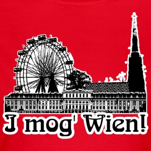 I mog Wien! | GIRLIES - Frauen T-Shirt