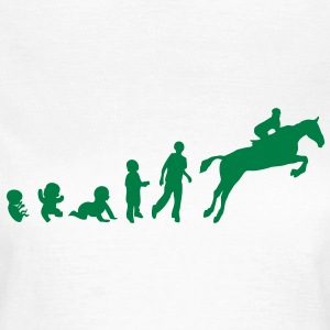 evolution equitation cheval4 obstacle sa Tee shirts - T-shirt Femme