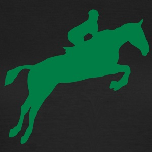 equitation cavalier5 obstacle cheval sau Tee shirts - T-shirt Femme
