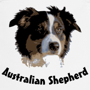 australian shepherd aussie sheep herd cattle  border collie agility   Aprons - Cooking Apron