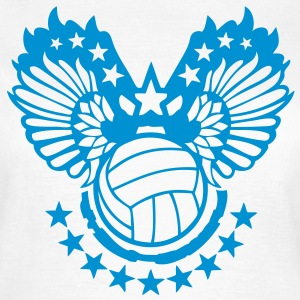 Weiß volleyball T-Shirts - Frauen T-Shirt