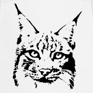 lynx cougar lion wildcat bobcat cat wild hunter hunt hunting  Aprons - Cooking Apron