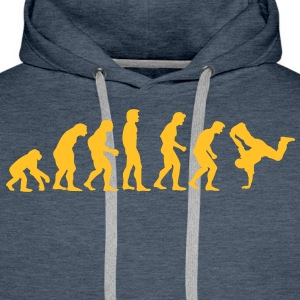 breakdance_evolution Sweat-shirts - Sweat-shirt à capuche Premium pour hommes