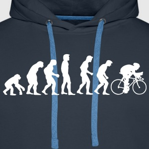 fahrrad_evolution Sweat-shirts - Sweat-shirt à capuche Premium pour hommes