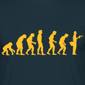 grafitti_evolution T-Shirts - Men's T-Shirt