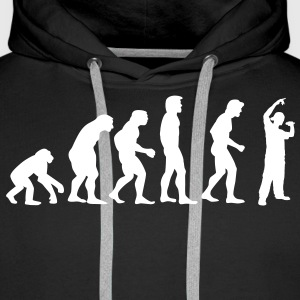 rap_evolution Sweat-shirts - Sweat-shirt à capuche Premium pour hommes