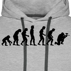 paintball_evolution Sweaters - Mannen Premium hoodie