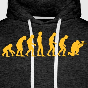 paintball_evolution Hoodies & Sweatshirts - Men's Premium Hoodie