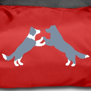 dog dancing Border Collies  bolsas - Bolsa de deporte