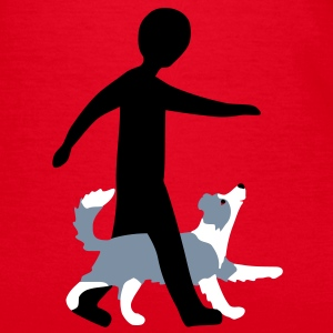 Dog Dancing 3-5 T-shirts - T-shirt dam