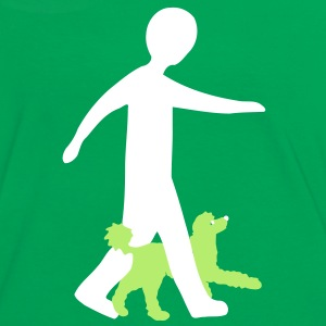 Dog Dancing 2-4 T-Shirts - Women's Ringer T-Shirt