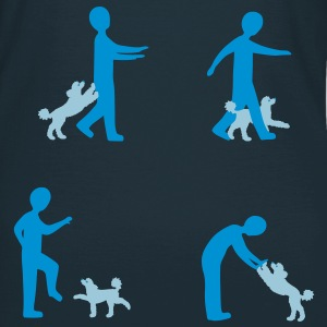Dog Dancing 2-1 T-Shirts - Frauen T-Shirt