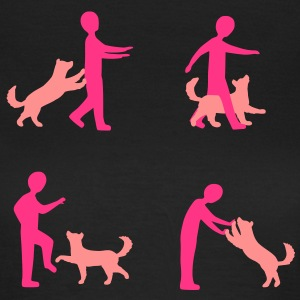 Dog Dancing 1-1 T-Shirts - Frauen T-Shirt
