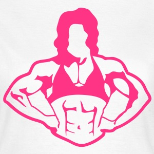 bodybuilding fitness30 corps femme woman Tee shirts - T-shirt Femme