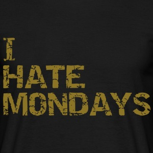 i  hate mondays Tee shirts - T-shirt Homme
