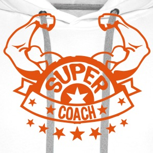 coach super bras muscle banniere 207 Sweat-shirts - Sweat-shirt à capuche Premium pour hommes
