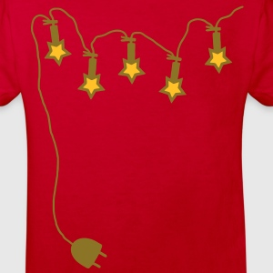 Light chain with connector - Stars - V2 Shirts - Kids' Organic T-shirt