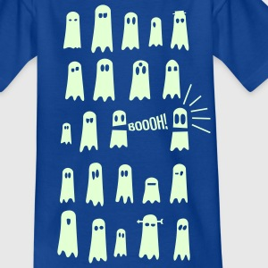 Royal blue Ghosts in the dark Shirts - Kids' T-Shirt