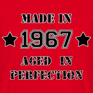 Made in 1967 T-shirts - Herre-T-shirt
