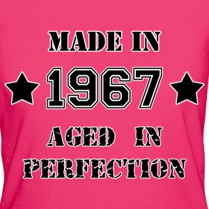 Made in 1967 T-shirts - Ekologisk T-shirt dam