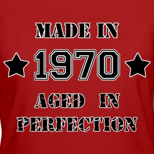 Made in 1970 Tee shirts - T-shirt Bio Femme
