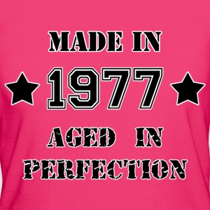 Made in 1977 T-Shirts - Women's Organic T-shirt