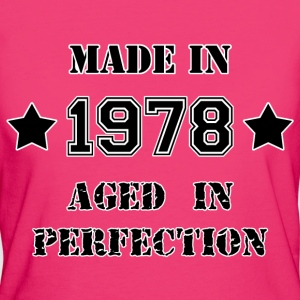 Made in 1978 Tee shirts - T-shirt Bio Femme