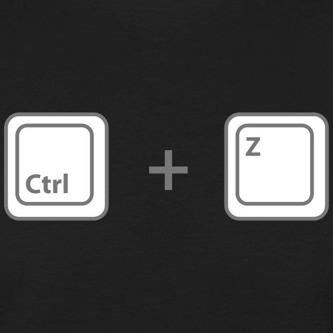 T-shirt Ctrl + Z Homme
