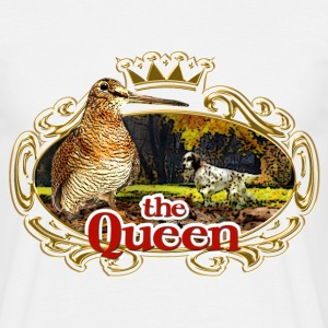 woodcock - the queen of the forest - Camiseta hombre