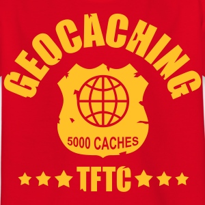 geocaching - 5000 caches - TFTC / 1 color Camisetas - Camiseta niño
