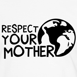 RESPECT YOUR MOTHER!, c, T-shirt - Maglietta Contrast da uomo