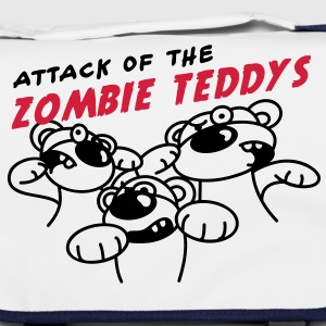 Attack of the Zombie Teddy Tasker - Skuldertaske