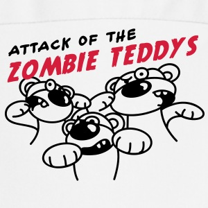 Attack of the Zombie Teddy  Aprons - Cooking Apron
