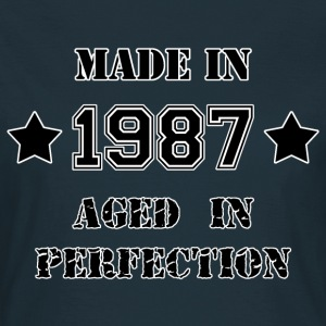 Made in 1987 T-shirts - Dame-T-shirt