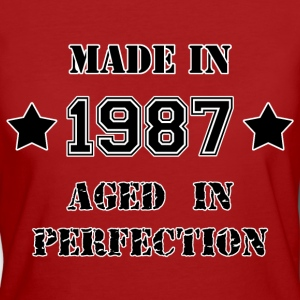 Made in 1987 T-shirts - Organic damer
