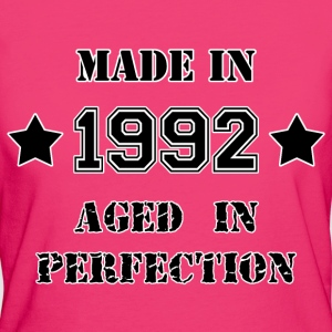 Made in 1992 Tee shirts - T-shirt Bio Femme