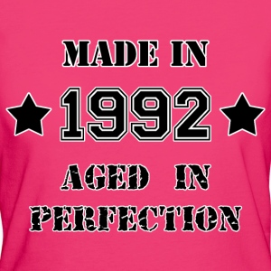 Made in 1992 T-Shirts - Women's Organic T-shirt