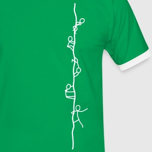 Ropers - climbers T-Shirts - Men's Ringer Shirt