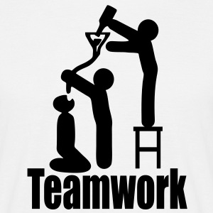 teamwork T-Shirts - Men's T-Shirt