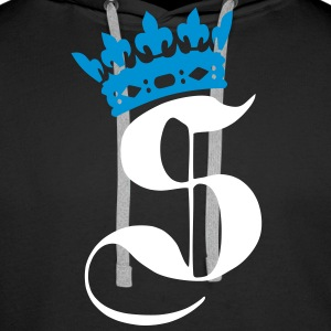 Swaggance King, Roi du Swagg by Swaggance - Sweat-shirt à capuche Premium pour hommes