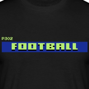 TV Text Football T-Shirts - Men's T-Shirt