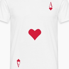 Ace of Hearts on your chest